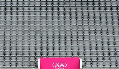 London Olympics Soccer Men Empty Seats