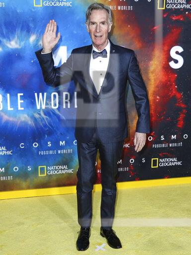 Los Angeles Premiere Of National Geographic's 'Cosmos: Possible Worlds'