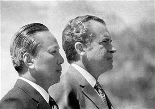 Richard Nixon, Richard M. Nixon, Nguyen Van Thieu