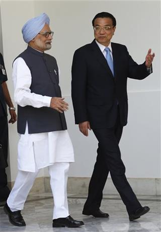 Li Keqiang, Manmohan Singh