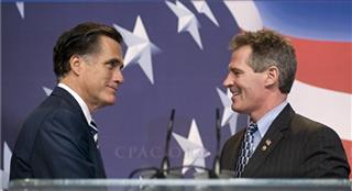 Mitt Romney, Scott Brown