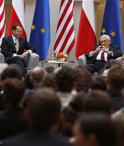 Henry Kissinger, Radek Sikorski