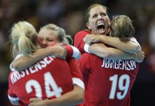 APTOPIX London Olympics Handball Women
