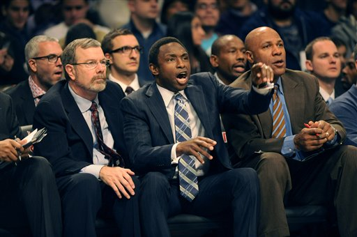 Avery Johnson, P.J. Carlesimo, Mario Elie