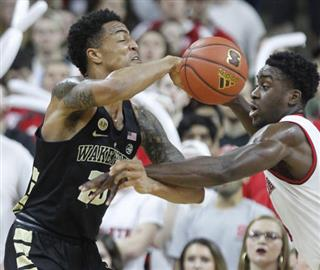 Wake Forest NC State Basketball