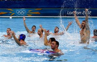 London Olympics Water Polo Men