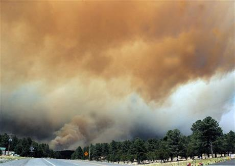 APTOPIX New Mexico Wildfire