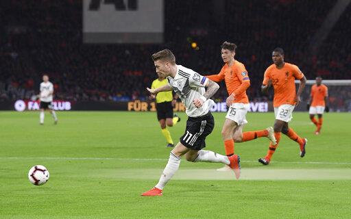 GES / Football / Netherlands - Germany, 24.03.2019