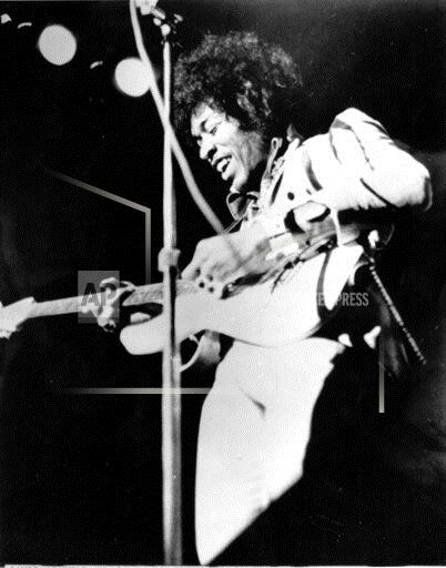 Associated Press Domestic News United States Entertainment, celebrities JIMI HENDRIX