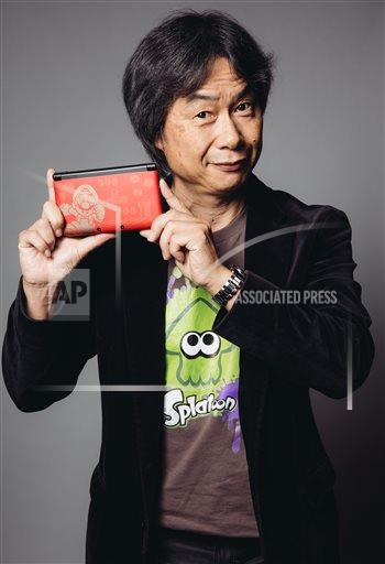 INVW Casey Curry/Invision/AP A ENT CA USA INVW Shigeru Miyamoto Portrait Session