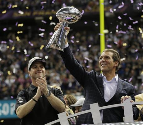 Stephen J. Bisciotti, John Harbaugh