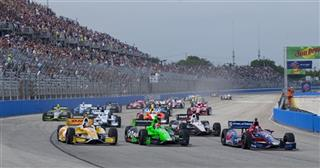 IndyCar Wisconsin Auto Racing