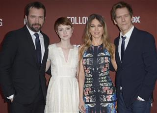 James Purefoy, Valorie Curry, Natalie Zea, Kevin Bacon