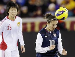 Carli Lloyd, Zhang Rui