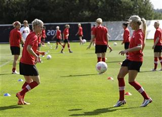 London Olympics women Soccer