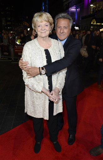 Dame Maggie Smith, Dustin Hoffman,