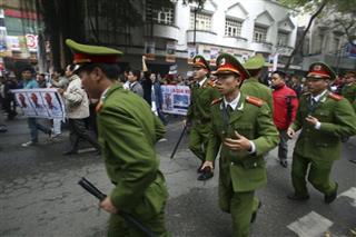 Vietnam China Protests