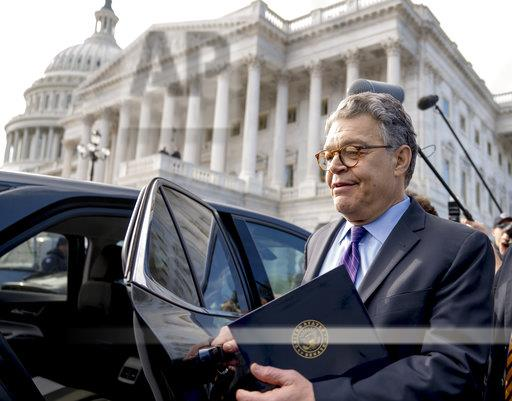 APTOPIX Sexual Misconduct Franken