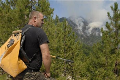 Bosnia Wildfires