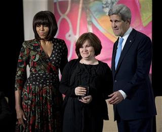 John Kerry, Michelle Obama, Elena Milashina
