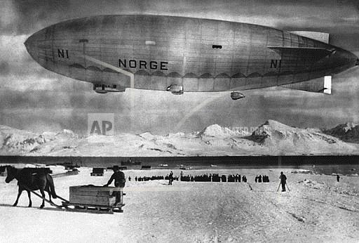 Watchf ASSOCIATED PRESS International News   Norway APHS199 AIRSHIP NORGE