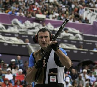 London Olympics Shooting Men