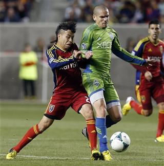 MLS Sounders FC Real Salt Lake Soccer