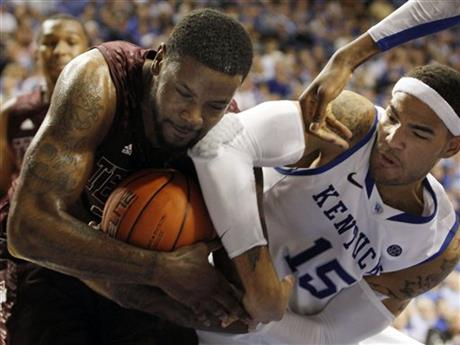 Kourtney Roberson, Kentucky's Willie Cauley-Stein