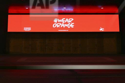Capital One Arena Goes Orange