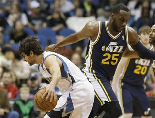 Ricky Rubio, Al Jefferson