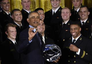 Barack Obama, Keenan Reynolds