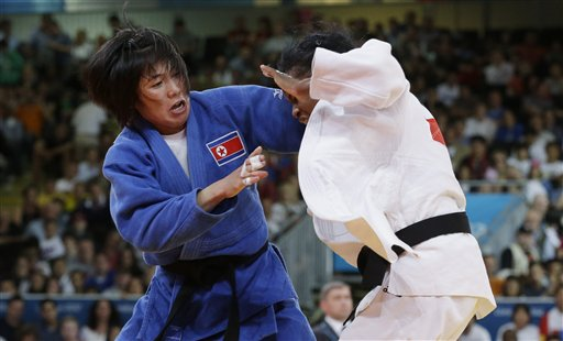 CORRECTION London Olympics Judo Women