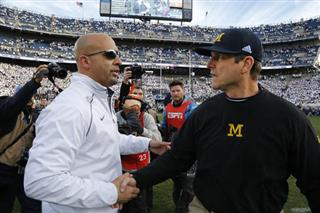 James Franklin, Jim Harbaugh