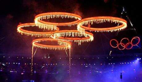 Opening Ceremony at the 2012 Summer Olympics