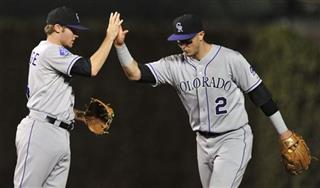 Troy Tulowitzki, Josh Rutledge