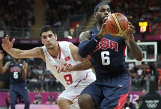 LeBron James, Mohamed Hadidane