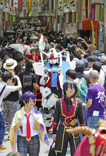 World Cosplay Summit in Nagoya, Japan