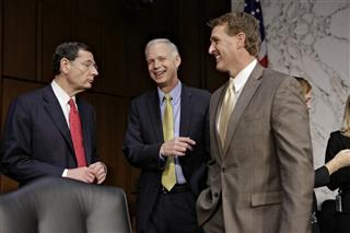 John Barrasso, Ron Johnson, Jeff Flake