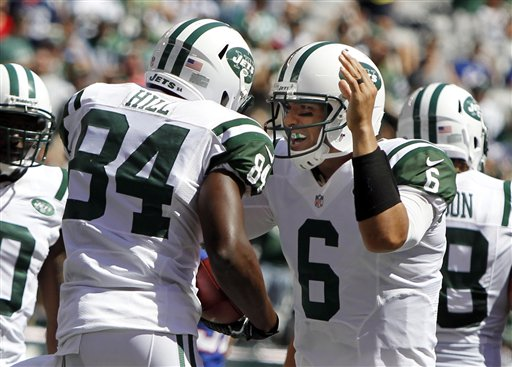 Mark Sanchez, Stephen Hill