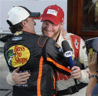 Dale Earnhardt Jr., Tony Stewart