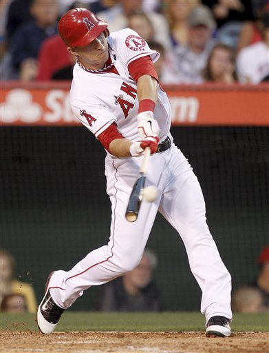 Mike Trout Hitting A Homerun Yankees-Angels 5/28/20...