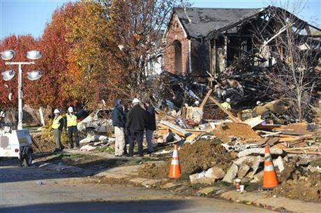 Indianapolis-House Explosion
