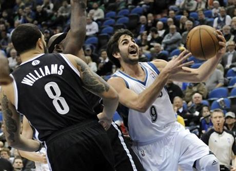 Ricky Rubio, Deron Williams