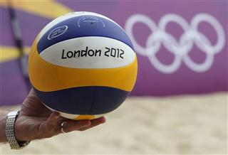 London Olympics Beach Volleyball
