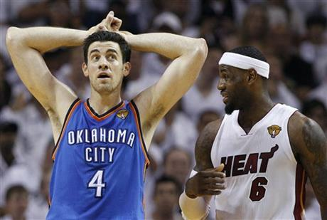 Nick Collison, LeBron James