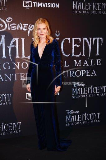 Italy Maleficent Premiere