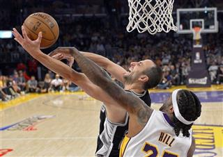 Manu Ginobili, Jordan Hill