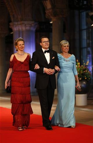 Princess Mabel, Prince Constantijn, Princess Laurentien