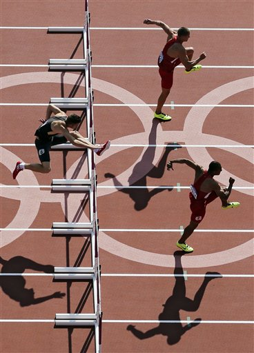 Trey Hardee, Ashton Eaton, Rico Freimuth