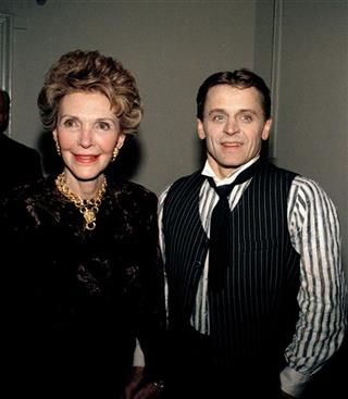 Baryshnikov And Nancy Reagan 1989